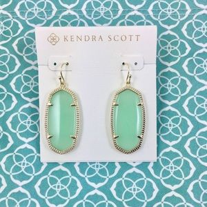 Kendra Scott Elle Earrings Chalcedony (Turquoise)